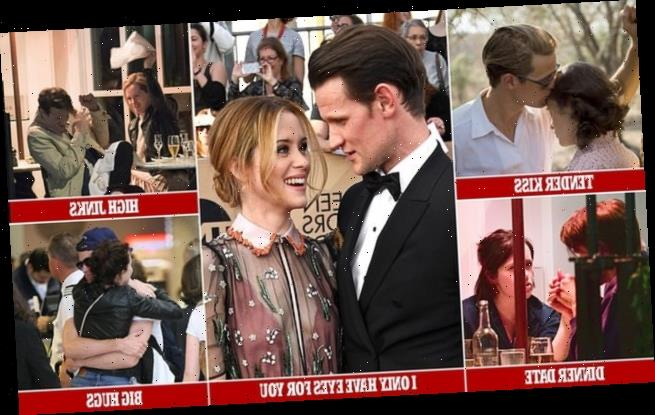 Off-screen romance rumours swirl for Matt Smith and Claire Foy