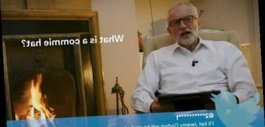 Jeremy Corbyn reads out mean tweets