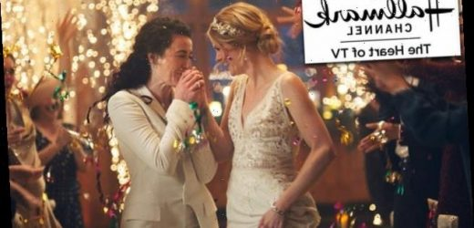 Hallmark apologizes for pulling ads featuring a lesbian couple kissing