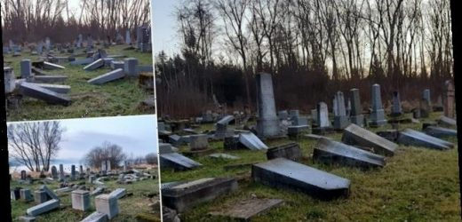59 graves at Jewish cemetery in Slovakia are desecrated