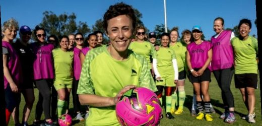 Kick-starting soccer for women at the grass roots