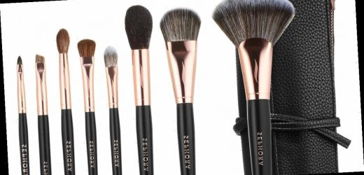 These Makeup Brush Sets From Sephora Have Your Entire Face Covered
