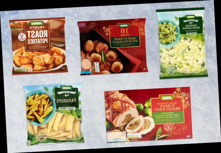 Asda is selling everything you need for a Christmas dinner for under £15 – The Sun
