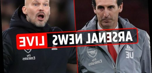 3pm Arsenal news LIVE: West Ham build-up, Emery wanted trio in summer transfer window, Kovac 'eyes Arsenal manager job' – The Sun