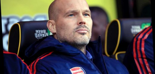 Arsenal hierarchy in crisis as they thought Freddie Ljungberg would buy them time – The Sun