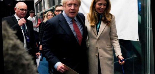Victorious Boris Johnson may now propose to girlfriend Carrie Symonds after engagement hint – The Sun