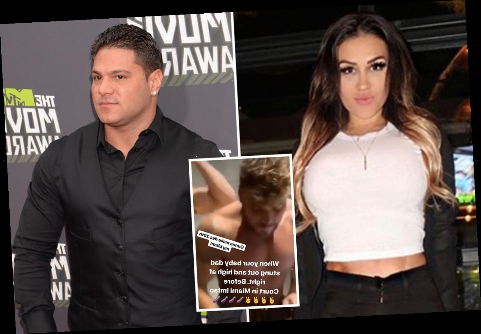 "Jersey Shore star Ronnie Ortiz-Magro's ex accuses him of being ""high"" on drugs in shocking photo – The Sun"