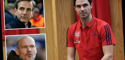Arsenal coaching staff announced as Mikel Arteta appoints Ljungberg and Stuivenberg as assistants and Steve Round joins – The Sun