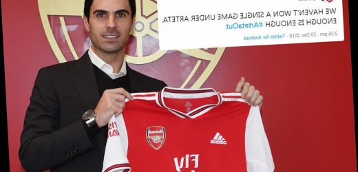 Fans mock fickle Gooners as Arteta Out trends minutes after Arsenal hiring – The Sun