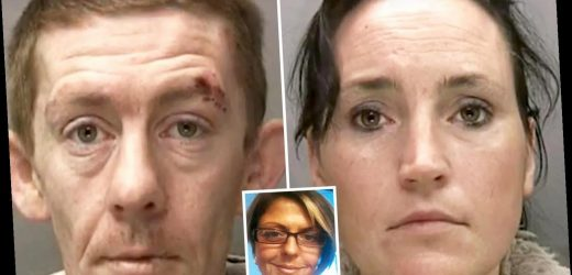 Couple who drowned housemate in bath and dumped her body in wheelie bin to claim her £5,000 benefits are jailed for 59 years