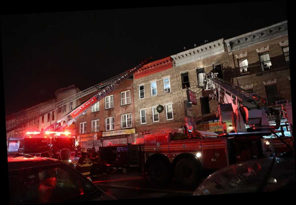 Man jumps to his death trying to escape Brooklyn apartment fire