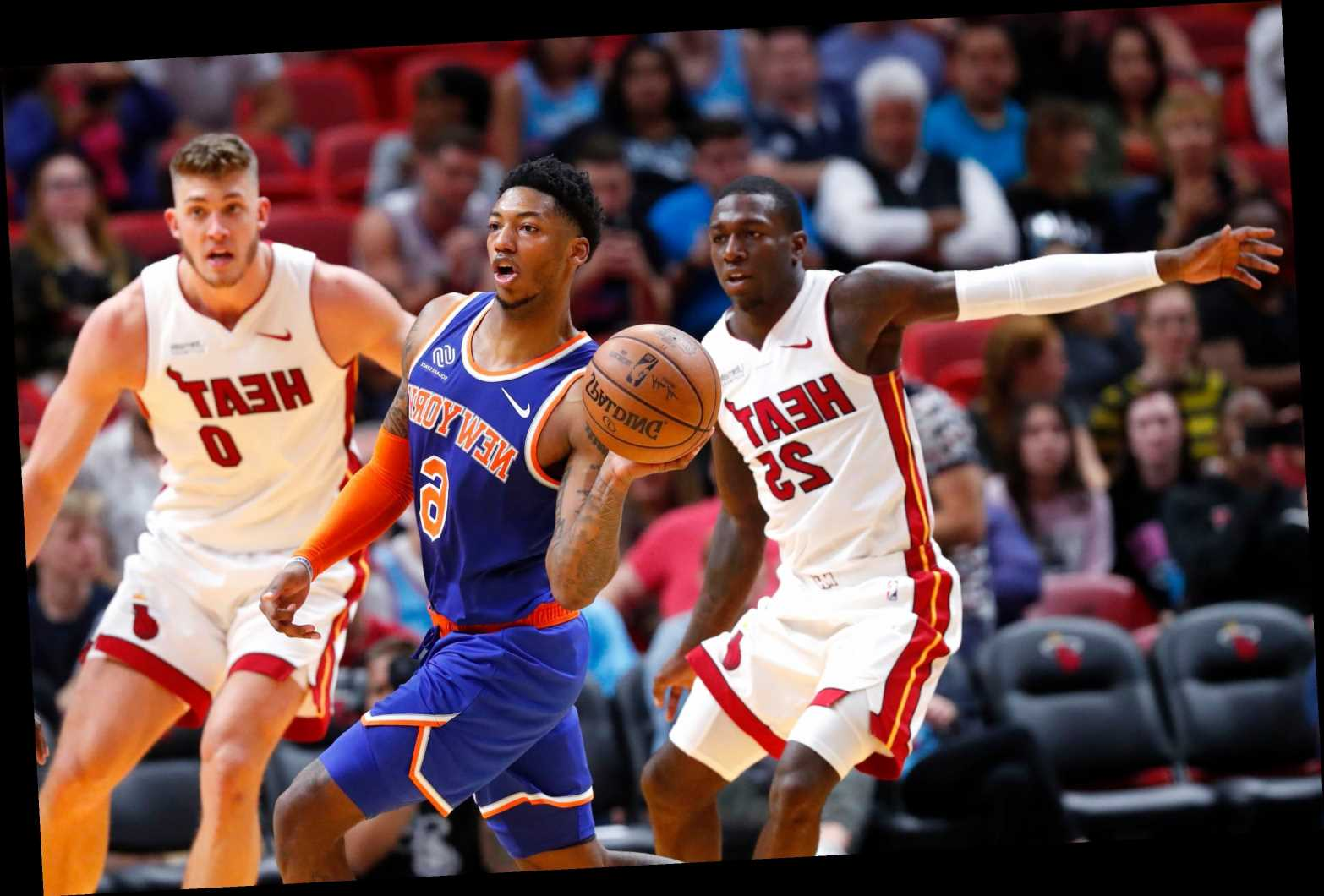 Knicks get brutal reality check in lopsided loss to Heat