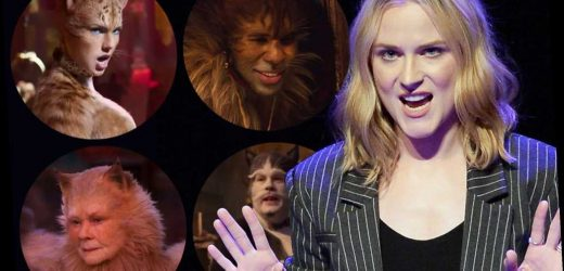 Evan Rachel Wood gives expletive-filled review of 'Cats'
