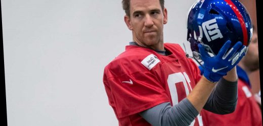Eli Manning's return is a much-needed, feel-good story