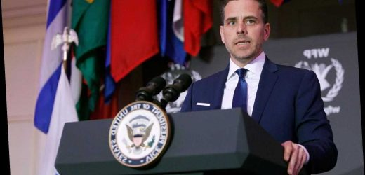Hunter Biden missing from Joe Biden's Christmas family photo