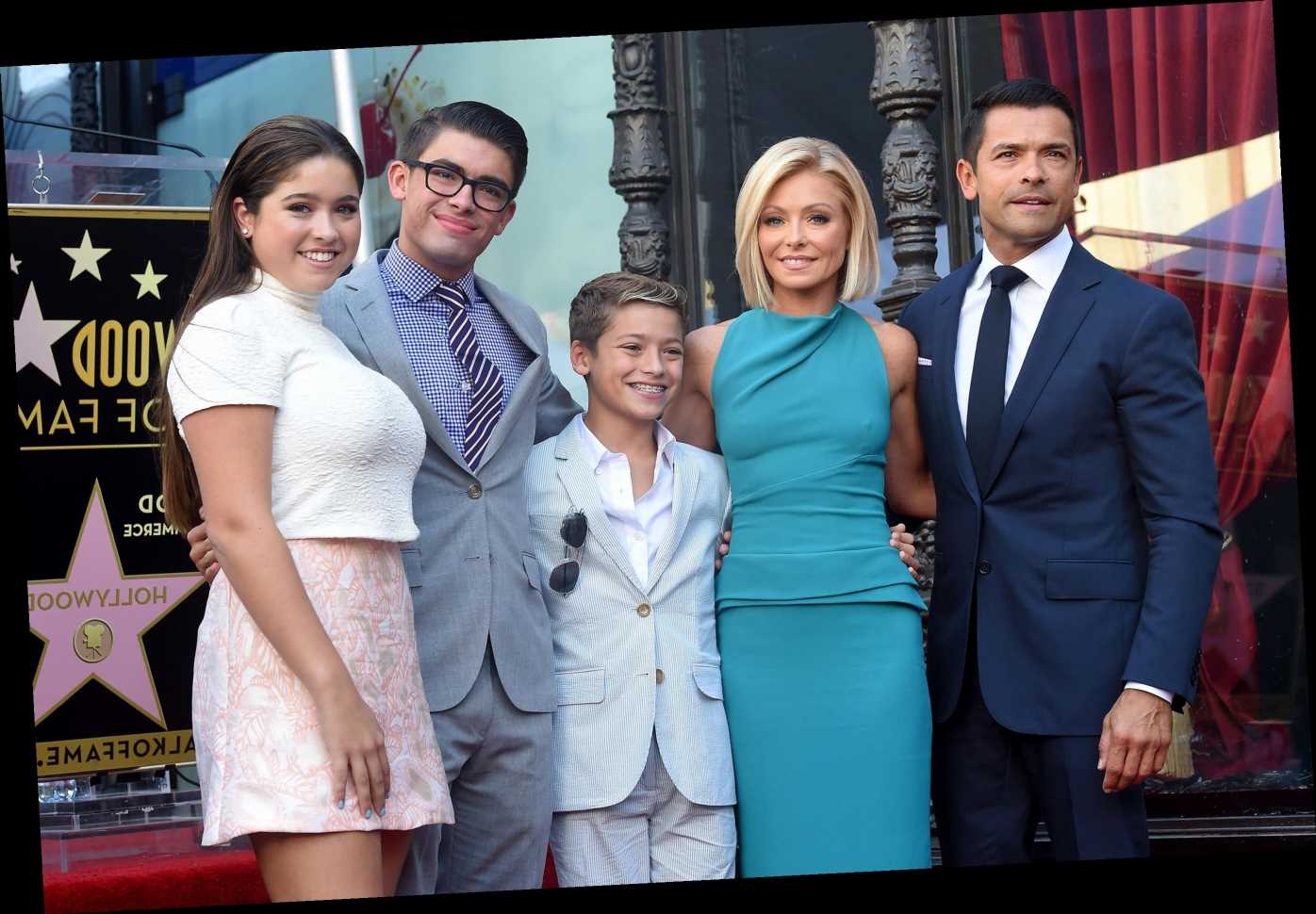 Kelly Ripa Calls Husband Mark Consuelos and Son Michael Her Man Crushes