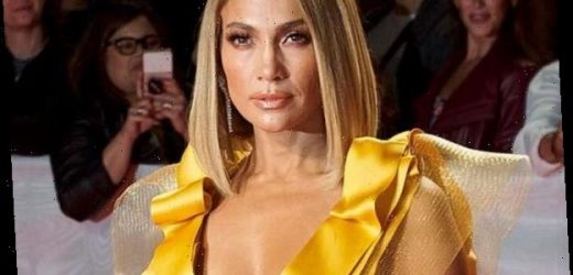 Jennifer Lopez's Silver Pantsuit Is the Perfect Holiday Fashion Inspo