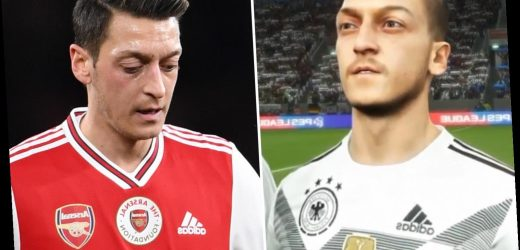 Mesut Ozil REMOVED from Pro Evolution Soccer in China over minority Muslim stance – The Sun