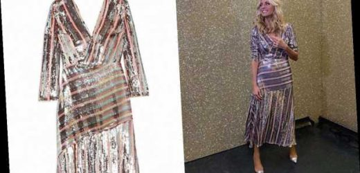 Remember Tess Daly's Rixo dress she wore on Strictly? It's got 30% off this weekend