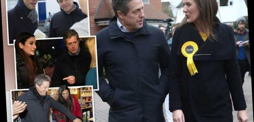 All candidates Hugh Grant canvassed with during election campaign failed to win their seat – The Sun