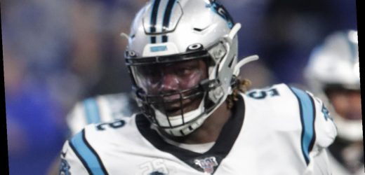 Panthers' Vernon Butler ejected from game for throwing punch, gives fans middle finger on way out