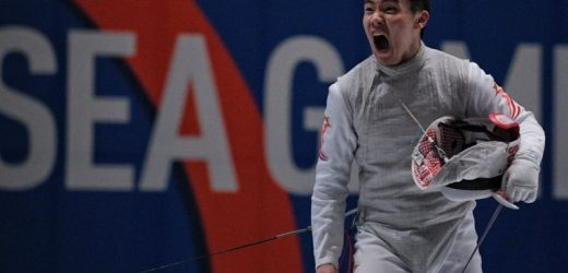 SEA Games: Singapore dominate men's foil team final to beat Thailand to the gold medal, epee women lose final