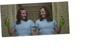 Bryan Cranston Became The Twins From 'The Shinning' In This Creepy Super Bowl Ad