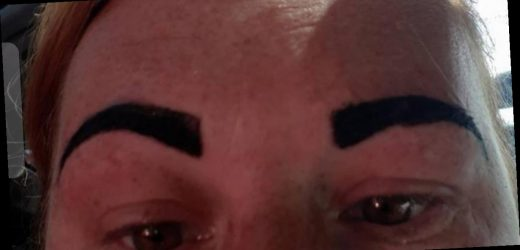 Mum's family holiday ruined after beautician left her with 'Angry Bird' eyebrows