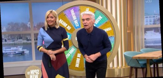 This Morning competition phone-in ends in disaster as Phillip Schofield cheats