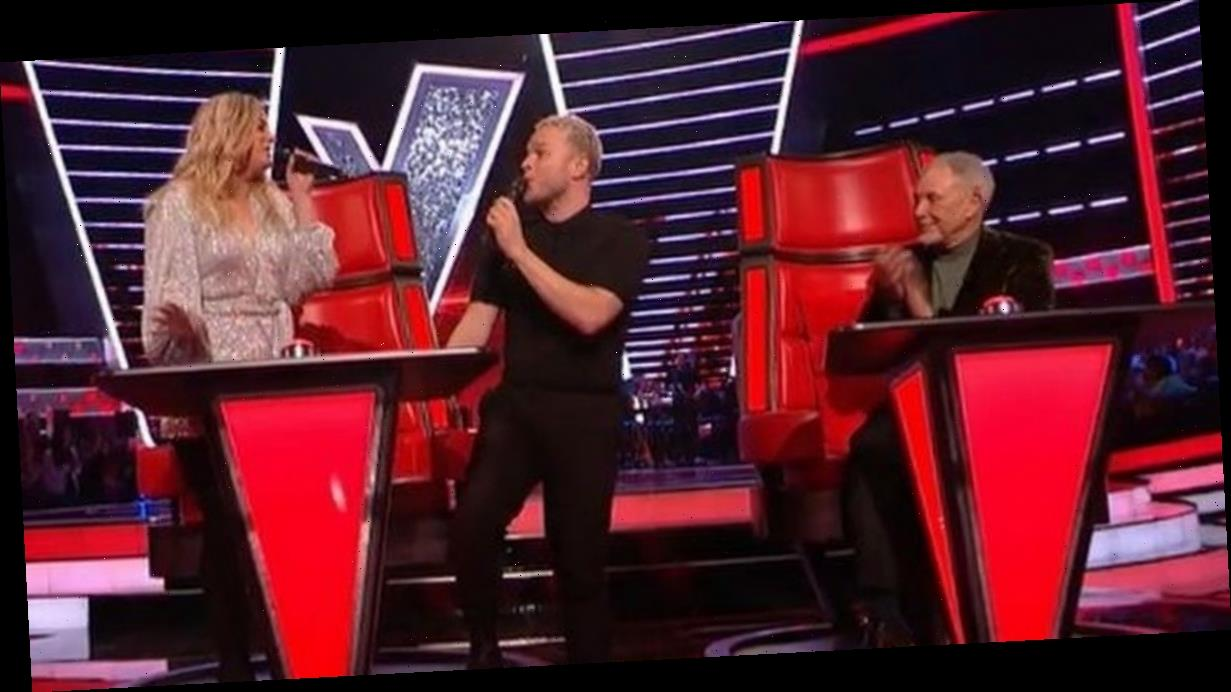 Olly Murs accuses Meghan Trainor of copying his song on The Voice