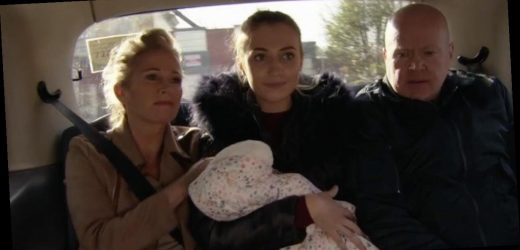 EastEnders Tilly Keeper shares emotional goodbye to Louise Mitchell after exit