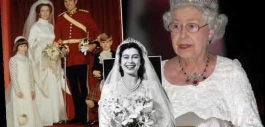 Queen Mary's Fringe tiara: Queen's wedding headpiece which disastrously broke on the day