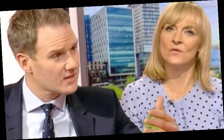Dan Walker halts interview as BBC Breakfast host suffers awkward on-screen blunder