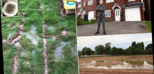 Couple say raw sewage has been flooding into their £300,000 new home