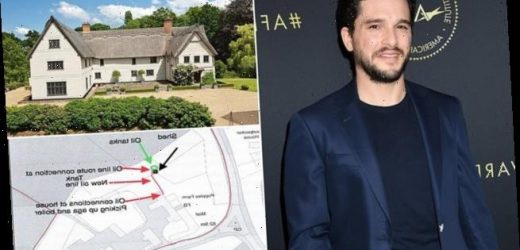 Kit Harington submits plans for a new central heating at mansion