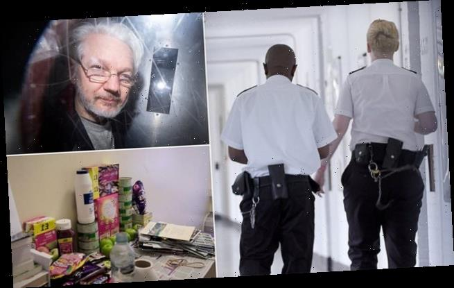 Julian Assange moved out of solitary confinement at Belmarsh prison