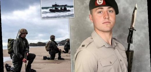 Pictured: Royal Marine who died in Cornwall beach training exercise