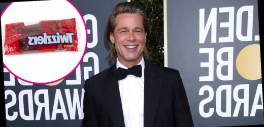 Big Appetite! Brad Pitt Can Eat an Entire Bag of Twizzlers in 1 Sitting