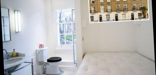 One-bed studio flat in London up for rent for £1,625 a month… with toilet right next to the bed – The Sun