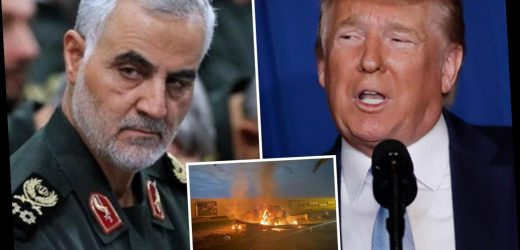 Trump says 'we took action to stop war' after execution of general Qasem Soleimani as NYC mayor warns of attacks on US