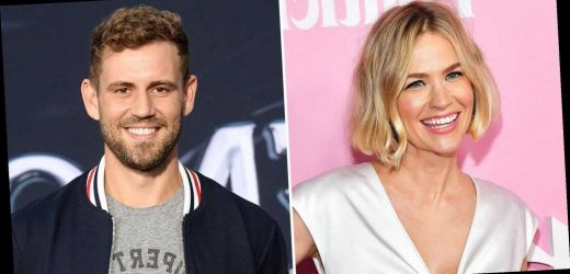 January Jones Dishes on Dating Nick Viall After He Slid Into Her DMs