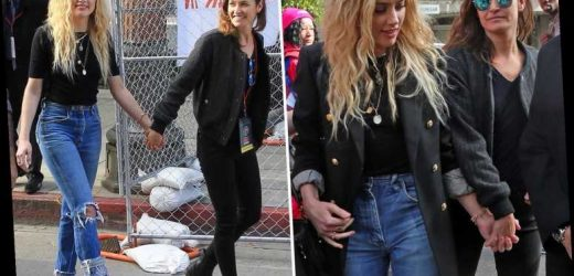 Amber Heard can't stop smiling as she steps out holding hands with new girlfriend Bianca Butti – The Sun