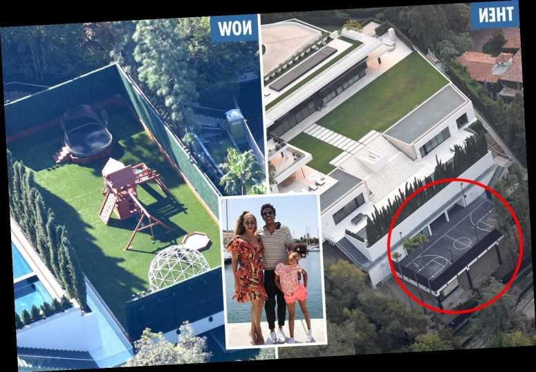 Beyonce demolishes Jay-Z's basketball court and builds a playground for kids in $88M home – The Sun
