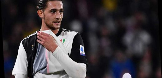 Arsenal transfer boost with Juventus ready to sell Adrien Rabiot for £25m as Arteta looks for Xhaka replacement – The Sun