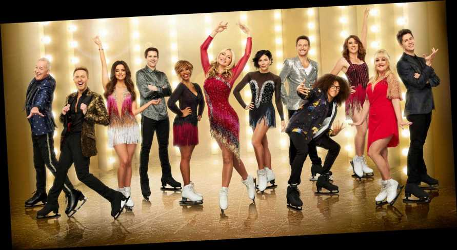 What time is Dancing On Ice on TV this weekend?