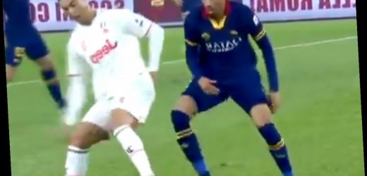Watch Cristiano Ronaldo humiliate Chris Smalling with stunning skills as Juventus beat Roma in Serie A – The Sun