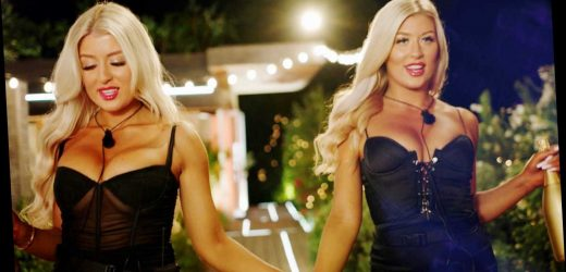 Love Island twins Eve and Jess are unrecognisable in old school photos