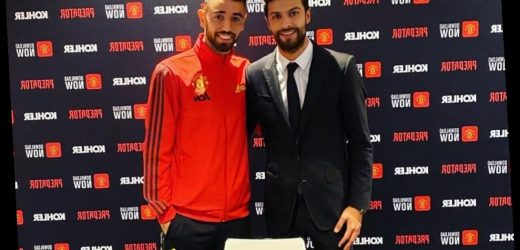 Bruno Fernandes pictured in Man Utd gear for first time as he poses with contract ahead of £55m transfer – The Sun