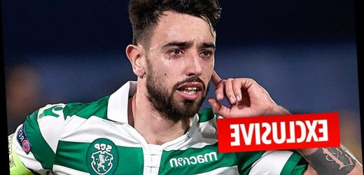 Man Utd's Bruno Fernandes transfer COLLAPSES as they refuse to cough up £68m to Sporting – The Sun