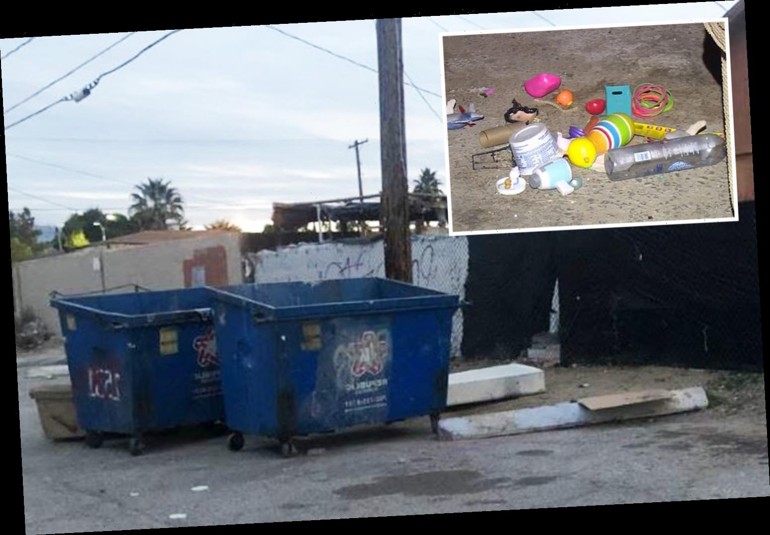Helpless newborn baby found dead abandoned inside a TRASH CAN in Las Vegas – The Sun